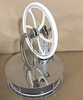 masyourin 低温度差 スターリングエンジン 面白い低温モータモデル スターリングエンジンクール 蒸気教育 実験科学 (白い)