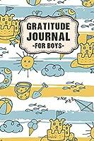 Gratitude Journal for Boys: Beach Daily Gratitude Journal for Boys | Undated 100 Days | 6 x 9