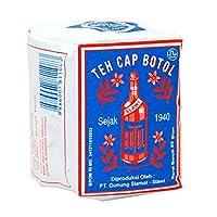 Teh Cap Botol テーbubukキャップbotol bungkus biru 80グラム(2パック) - ブランドルースティーブルーパックボトル
