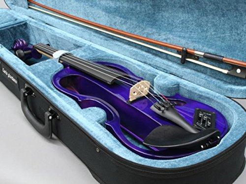 일렉트릭 기타 바이올린 카루 러 죠 루다노  EV-202 PPL 퍼플 4/4 초심자-