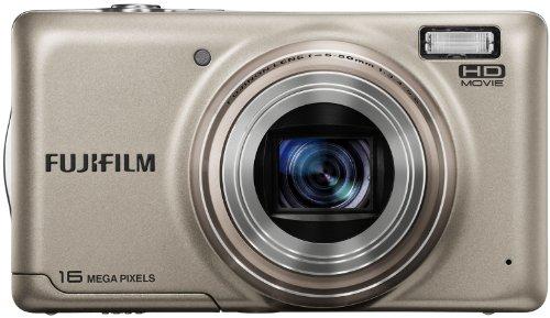 FUJIFILM デジタルカメラ FinePix T400 光学10倍 シャンパンゴールド F FX-T400G