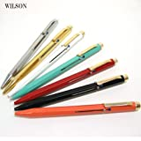WILSON 4色 ボールペン イタリアメイド 輸入文具 筆記具 シルバー