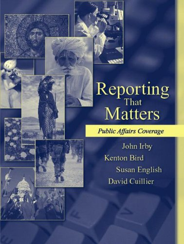 Download Reporting That Matters: Public Affairs Coverage 0205434622