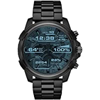 DIESEL Men's DZT2007 Year-Round Smart Digital Black Band Watch
