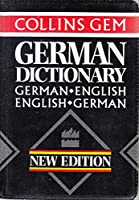 Collins Gem German Dictionary: German-English English-German (Collins Gems)