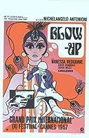 Blow UpポスターBelgian 14x 22デヴィッド・ヘミングスヴァネッサ・レッドグレイヴサラ・マイル Unframed 412481