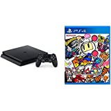 PlayStation 4 ジェット・ブラック 500GB (CUH-2100AB16) + スーパーボンバーマンR - PS4 セット