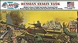 アトランティスモデル 1/48 WW.II ソビエト軍 スターリン戦車 プラスチックモデルキット AMCA303