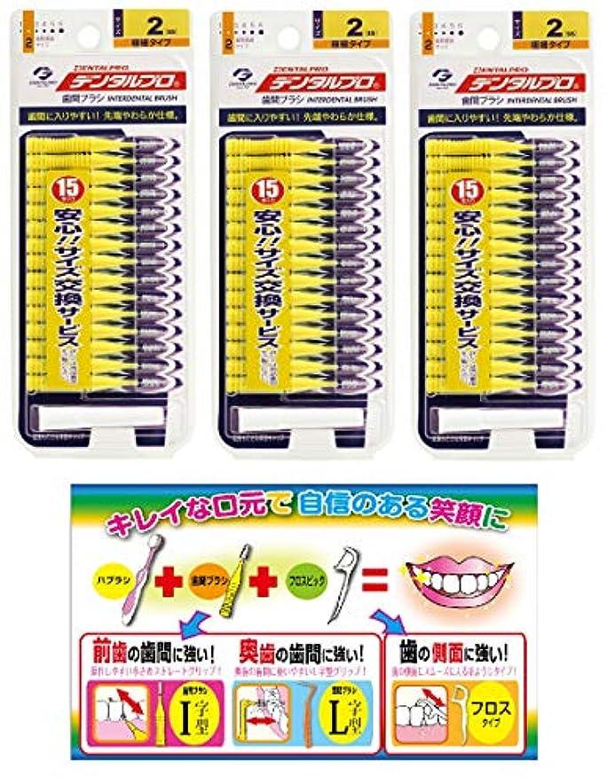 にやにや売上高チキン【Amazon.co.jp限定】DP歯間ブラシ15P サイズ2 3P+リーフレット