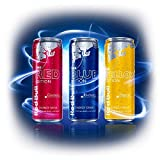 【日本未発売】Red Bull レッドブル Editions, アメリカ版(250ml x 12缶)シルバー・レッド・ブルー Red Bull Editions, US Formula (12 x 250-ml cans) 4 Each of Cranberry, Lime & Blueberry