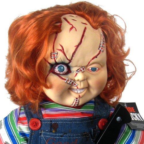 映画「チャッキーの花嫁」コレクターアイテム:66センチ(26インチ)の「チャイルドプレイ」のチャッキー人形とスタンド 【並行輸入品】