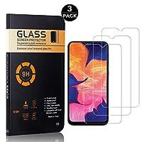 Galaxy A40 ガラスフィルム, Zeebox 強化ガラス液晶保護フィルム 飛散防止 耐衝撃 傷防止 硬度9H 気泡ゼロ キズ防止 指紋防止. Samsung Galaxy A40 用, 高い透過率 液晶保護フィルム 極薄 ガラスフィルム, 3枚入