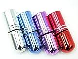 ShopXJ 香水 詰め替え アトマイザー 携帯 持ち運び ミニ サイズ 3ml ロール オン タイプ (ブルー)