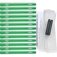 Avonセーム革IIジャンボグリーンゴルフグリップキット( 13グリップ、テープ、クランプ