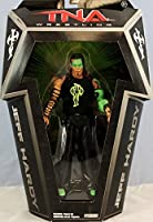 GLOW PAINT JEFF HARDY - RINGSIDE COLLECTIBLES EXCLUSIVE JAKKS PACIFIC TNA TOY WRESTLING ACTION FIGURE by Wrestling