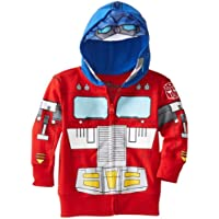 Freeze Optimus Prime Toddler Boys' Character Hoodie, Red, 4T