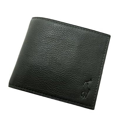 POLO RALPH LAUREN ラルフローレン 財布 ペブルレザー 小銭入れつき二つ折りウォレット(M)