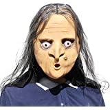 オールドウィッチラテックスマスク - ハロウィーンホラーパーティーのためのスーパー、デコレーション - トリック&treaters、ドレスアップ、怖いコスチューム、コスプレ