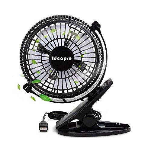 扇風機 クリップ 卓上扇風機 usb扇風機 小型 静音 強力...