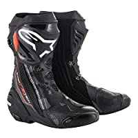 alpinestars(アルパインスターズ)バイクブーツ ブラック/ダークグレー/レッドフロー 41/26.0cm SUPERTECH-R(スーパーテックR)ブーツ0015