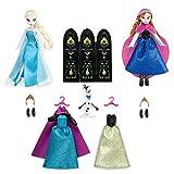 Disney(ディズニー) Anna and Elsa Mini Doll Wardrobe Play Set - Frozen - 5 1/2'' アナと雪の女王 アナとエルサミニドール ワード..