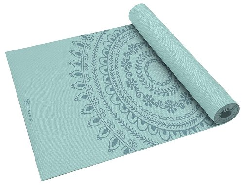 【Gaiam】ガイアム Print Premium Yoga Mats (5mm) ヨガマット マラケシュ(並行輸入品)