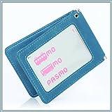 BLUE SINCERE 定期入れ パスケース 革 レザー メンズ レディース 二つ折り 5ポケット 5colors オリジナルギフトBOXセット