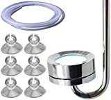 CO2 ディフューザー 拡散器 ステンレス 製 35cm エア ポンプ 拡散 アクア リウム や ADA 水槽 に 便利 な フルセット キスゴム エア チューブ 付き