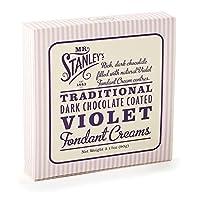 ミスター・スタンレーの紫色のフォンダンクリームの90グラム - Mr Stanley's Violet Fondant Creams 90g [並行輸入品]