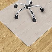 チェアマット 90*120cm厚み1.8mm 床を保護 デスク マット PE素材 カート可能 フローリング/畳/床暖房対応