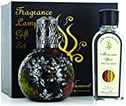 ASHLEIGH & BURWOOD PFL702B Oriental Woodland and Moroccan Spice Fragrance Lamp Gift Set, Large, B