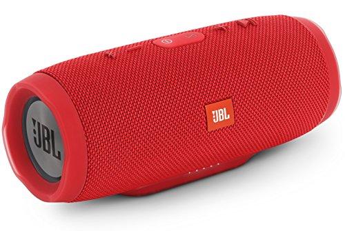 JBL CHARGE3 Bluetoothスピーカー IPX7防水/ポータブル/パッシブラジエーター搭載 レッド JBLCHARGE3REDJN 国内正規品