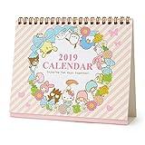 サンリオキャラクターズ リングカレンダー(リース) 2019
