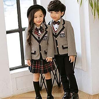 フォーマルスーツ 子供 キッズ 制服 洋服 女の子 男の子 入学式 卒園式 ピアノ演奏会 (120, 女の子)