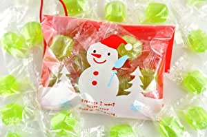 クリスマス オーナメント キャンディー メロン飴