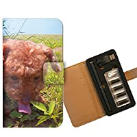 プルームテック ケース PloomTECH 手帳型 くまお B002202_02 犬 トイプードル イヌ 動物 ブサかわ