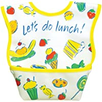 Dex Baby Dura Bib - Stage 1 - Small 3 - 12 Months (Let's Do Lunch) by DEX