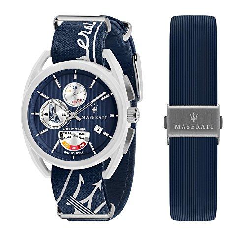 Maserati timaranoヨットタイマーアラームLimited Edition 248/ 2000メンズ腕時計