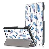 Huawei MediaPad T3 7.0 ケース 【WindTeco】 Huawei T3 7インチ カバー 専用 保護ケース 三つ折 スタンド機能付き 開閉式 極薄型 最軽量 全面保護型 傷つけ防止カバー 折り畳み 横開き Huawei MediaPad T3 7.0 対応