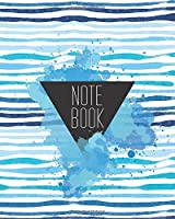 Notebook: Summer Sea Notebook Journal Diary, Lined Pages