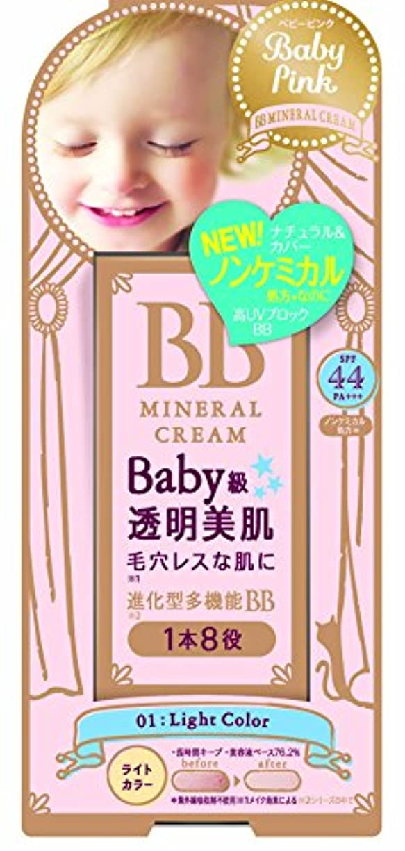 してはいけませんに応じてブルームベビーピンク BBクリーム 01:ライトカラー 20g