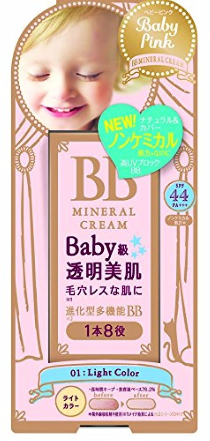 ヘッジキャメルクレデンシャルベビーピンク BBクリーム 01:ライトカラー 20g