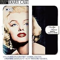 301-sanmaruichi- iPhone7 手帳型ケース iPhone7 ケース 手帳型 おしゃれ マリリンモンロー マリリン・モンロー Marilyn Monroe セクシー 海外 B 手帳ケース