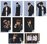 NEWS 公式写真 シングル 「生きろ」 MV&ジャケ写撮影オフショット 9枚フルセット 【小山慶一郎】