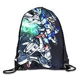 Gundam 機動戦士ガンダム ジムサック バッグ ナップサック マルチバッグ マルチバッグ 防水仕様 サイクル スポーツ 通勤 登山 巾着袋 アウトドア 軽量 男女兼用