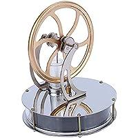 低温度型 スターリングエンジン 低温モータモデル スチールモーター Stirling Engine 知育玩具 蒸気教育 実験科学 物理実験 自由研究