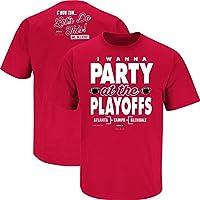 ヒューストンcougarファン i wanna party at the playoffs tシャツ sm