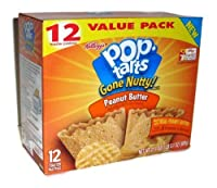 Pop Tarts Gone Nutty! Peanut Butter Flavor Toaster Pastries (Pack of 3) [並行輸入品]