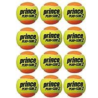prince(プリンス) キッズ・ジュニア テニスボール(12個セット) オレンジボール 7G324