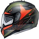 HJC(エイチジェイシー)バイクヘルメット フルフェイス MC7F L(59-60) IS-17 アルマダ HJH091